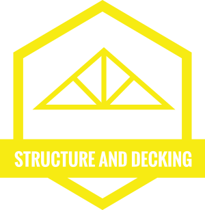 Structure and decking